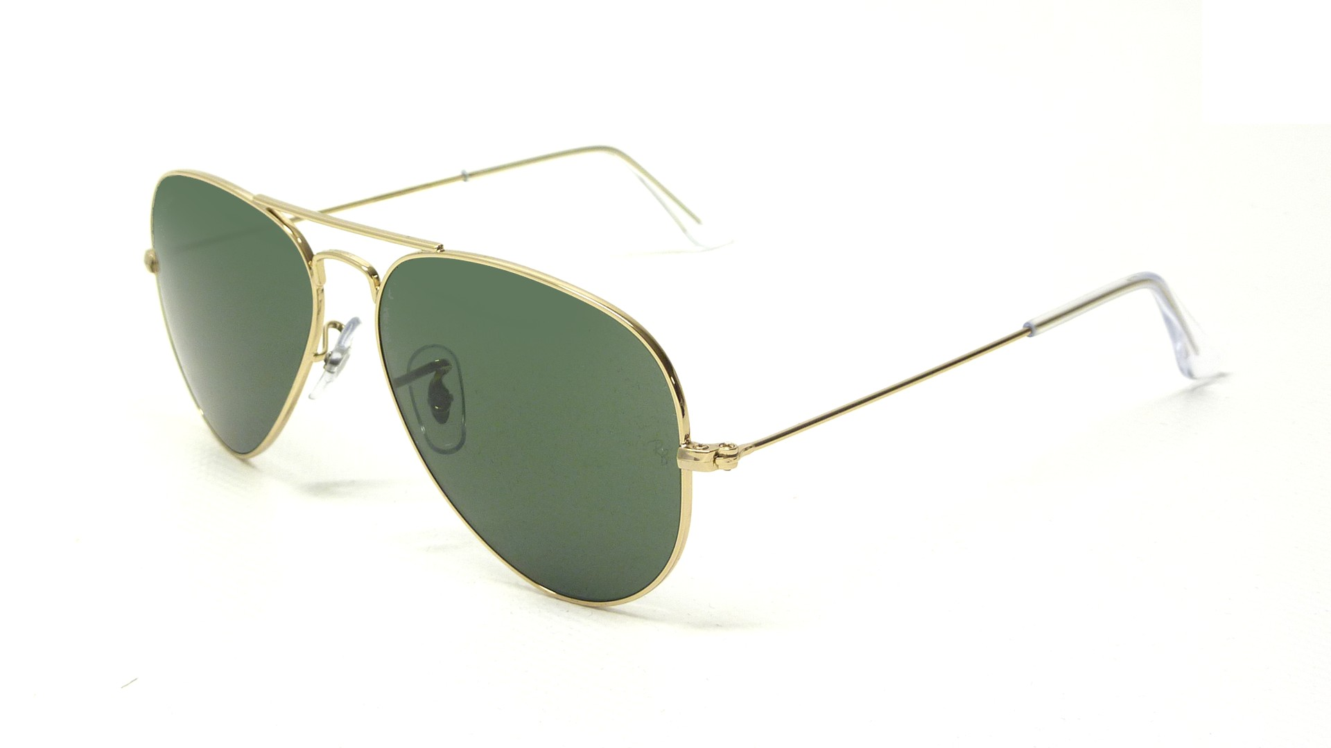 2551ef02fd1 Ray Ban Large Metal Aviator Sunglasses Model No 3025 L0205 « One ...